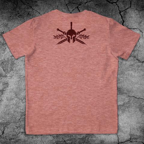 Купить хлопковую футболку Gladiator для пауэрлифтинга, для зала, фитнеса, стиль жизни вид со спины