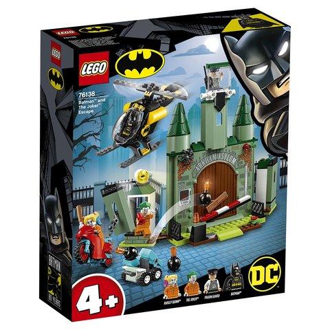 LEGO Super Heroes: Бэтмен и побег Джокера 76138 — Batman and The Joker Escape — Лего Супергерои ДиСи
