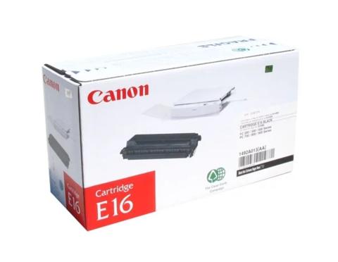 Оригинальный картридж Canon E-16 1492A003 черный