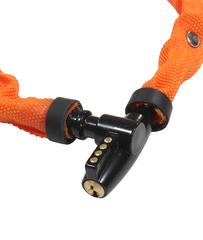 Замок велосипедный Kryptonite Keeper 465 Key Chain 4x65CM Yellow - 2