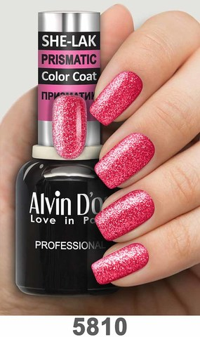 Alvin D`or Лак для ногтей SHE-LAK PRISMATIC  тон 5810 -8мл