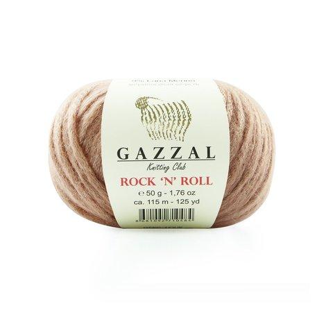 Пряжа Gazzal Rock n Roll 13479 кофейно-розовый