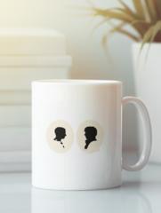 Кружка с рисунком Шерлок (Sherlock, Бенедикт Камбербэтч) белая 005