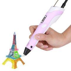 3D ручка MyRiwell RP100B (цвет: розовый)