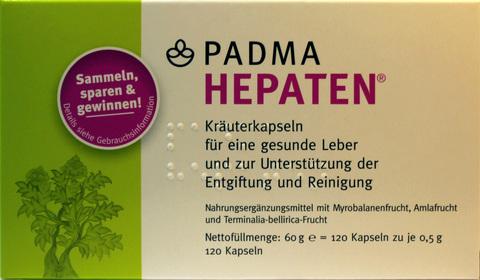 PADMA HEPATEN (Содержит 60 капсул)