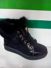 Кеды ботинки женские зимние