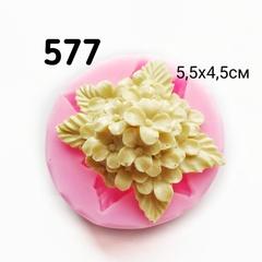 0577 Молд силиконовый Гортензия