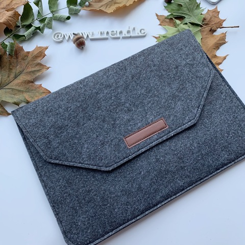 Папка конверт для MacBook Felt sleeve bag 11.6'' /black/