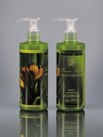 Liv-delano Green Style Мусс деликатный для очищения лица 190гр
