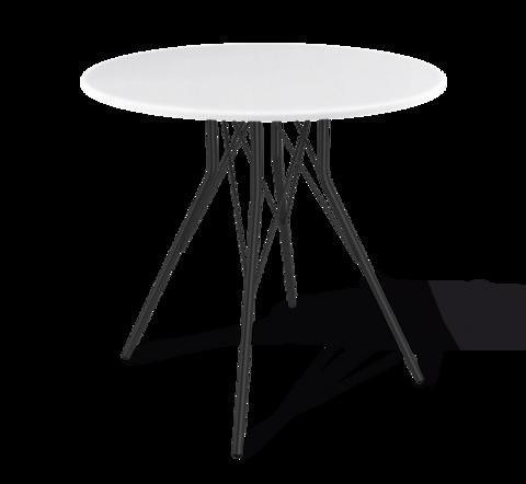 стол на хромированных ногах