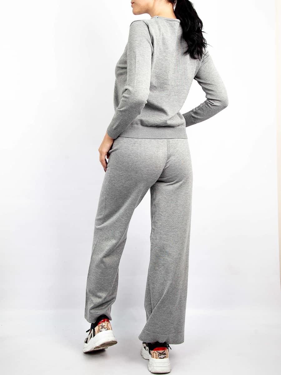Moda Комплект тройка кардиган с кофтой и брюками