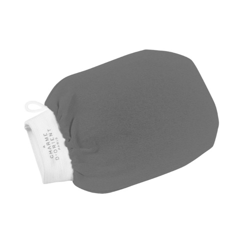 CHARME D'ORIENT | Кесса (рукавица для пилинга) большая, цвет-серая / Kassa Grande Taille