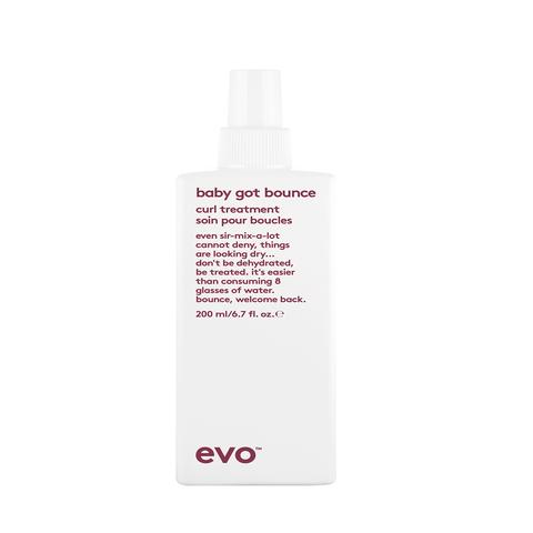 EVO Смываемый уход для вьющихся и кудрявых волос [упругий завиток] Baby Got Bounce Curl Treatment