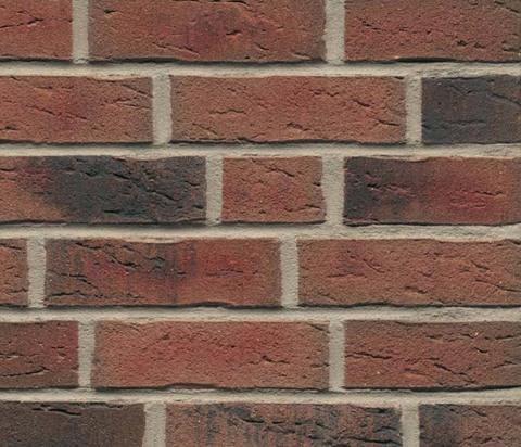 Feldhaus Klinker, K685WDF, sintra ardor nelino, ручная формовка, пустотелый - Клинкерный кирпич