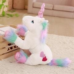 Мягкая игрушка Единорог белый
