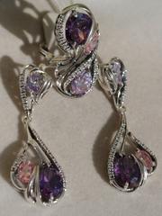 Фристайл (кольцо из серебра)