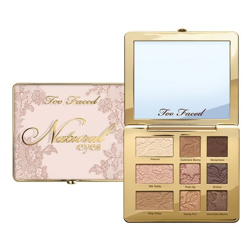 Тени Too Faced Natural Eyes New