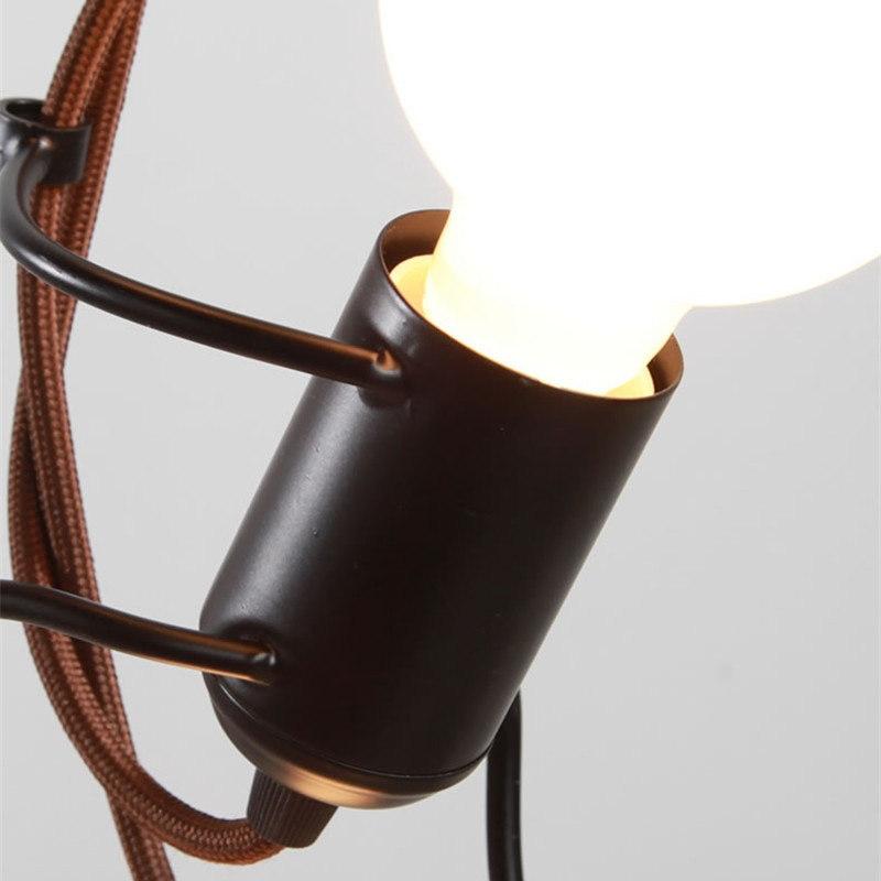 Подвесной светильник Live Men by Light Room (3 плафона)