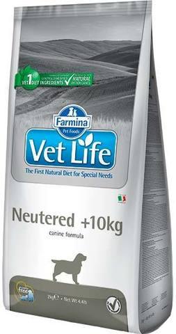 12 кг. FARMINA Vet Life Сухой корм для взрослых кастрированных и стерилизованных собак более 10 кг Neutered