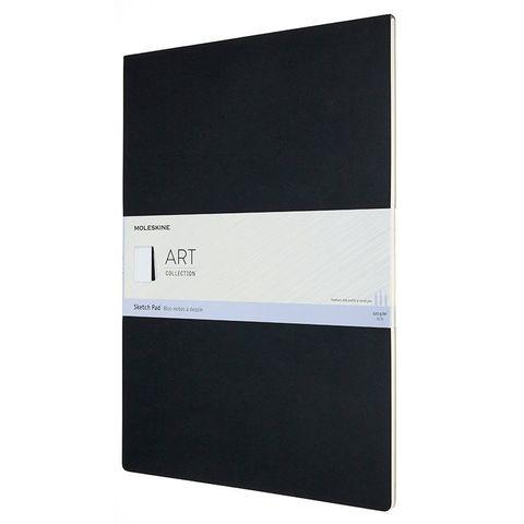 Блокнот для рисования Moleskine ART SOFT SKETCH PAD ARTSKPAD9 A3 88стр. мягкая обложка черный