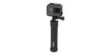 Монопод-штатив GoPro 3-Way Mount - Grip/Arm/Tripod (AFAEM-001) сложен с камерой