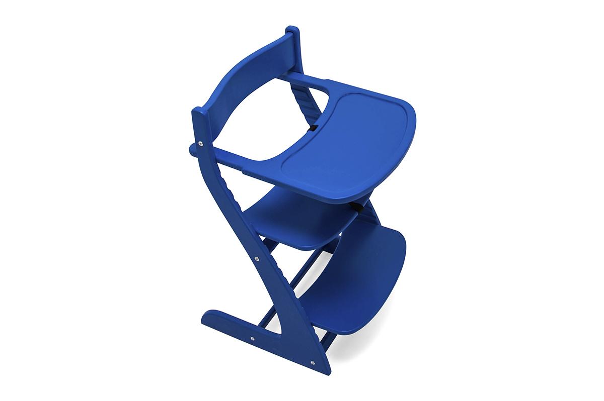 """Детский растущий регулируемый стул """"Усура синий"""""""