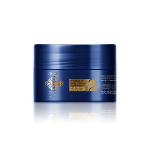 AMEND | Маска с кератином для восстановления поврежденных волос / Gold Black RMC System Q+, (300 мл)