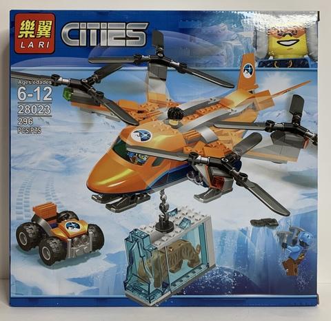 Сити  28023 Арктический вертолет 296дет Конструктор