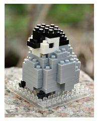 Конструктор Wisehawk Малыш пингвин 85 деталей NO. A6 Baby Penguin Gift Series