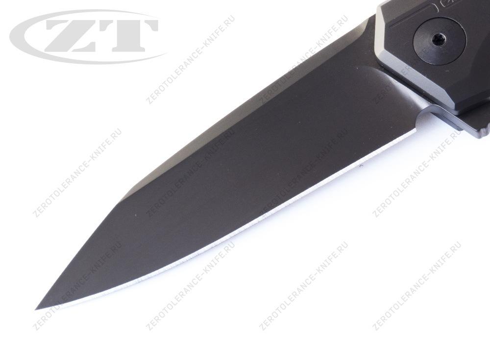 Нож Zero Tolerance 0808BLK Rexford - фотография