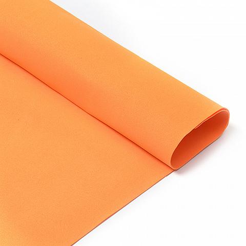 Фоамиран 1мм, 50*50 см, оранжевый