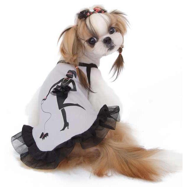 сарафан для маленьких собак
