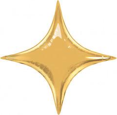 К Звезда, 4х-конечная, Золото, 28''/71 см,1 шт.
