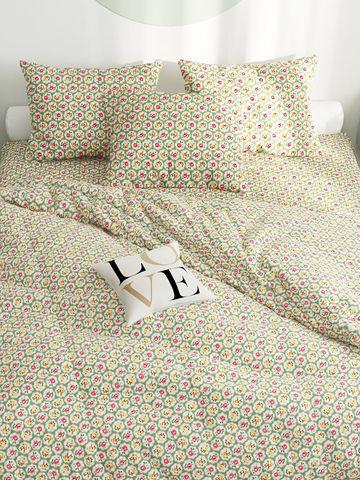 Пододеяльник  -Британские традиции- 1,5-спальный на молнии 145х215 см