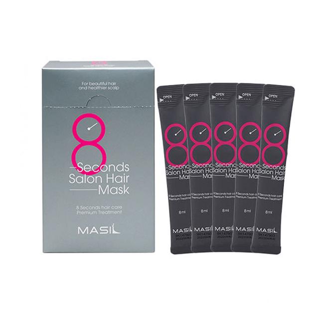 Бальзамы Восстанавливающая маски Masil 8 seconds Salon Hair Mask Travel set MASIL-8-Seconds-Salon-Hair-Mask-Travel-Kit.png