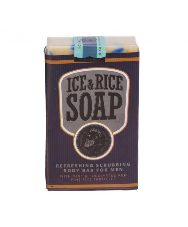 Мыло освежающее CHEMICAL BARBERS Ice&Rice
