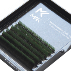 Омбре ресницы МАК (Green) МИНИ-МИКC (6 линий)
