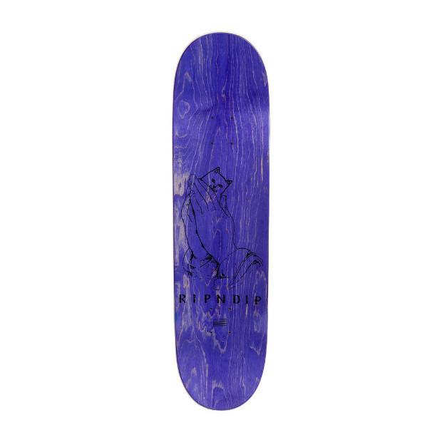 Дека для скейтборда RIPNDIP Lord Nermal (Orange/Aqua)