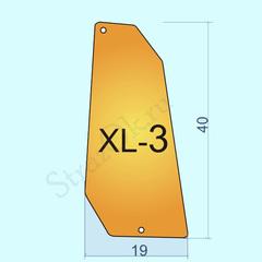 Купить большие пришивные зеркала оптом Gold XL-3