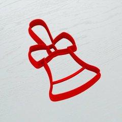 Колокольчик с бантом форма для пряника