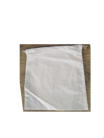 МЕШОЧЕК. Бязь суровая, завязка в кулиске (33*35 см)