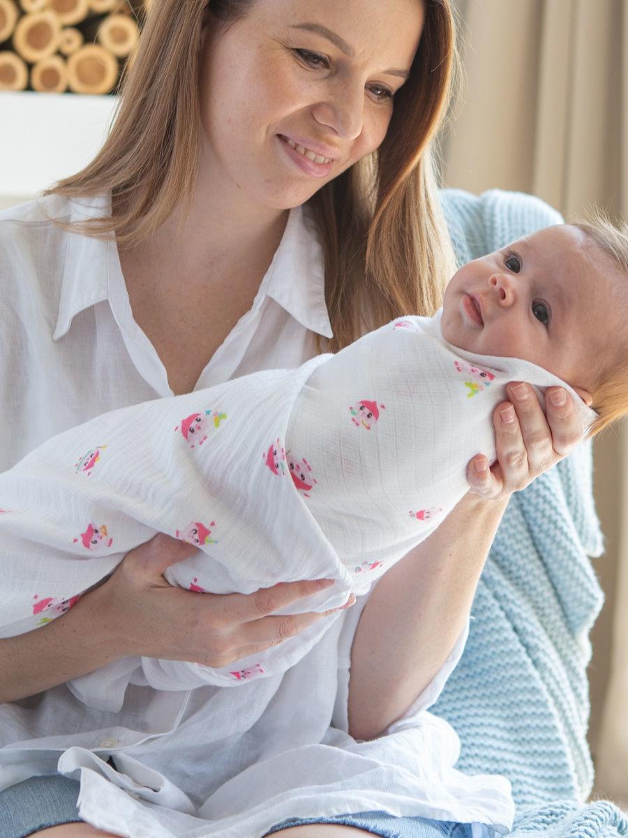 Фото мамы с малышом муслин