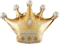 К 12''/30 см Мини-фигура, Корона, Золото, 5 шт.