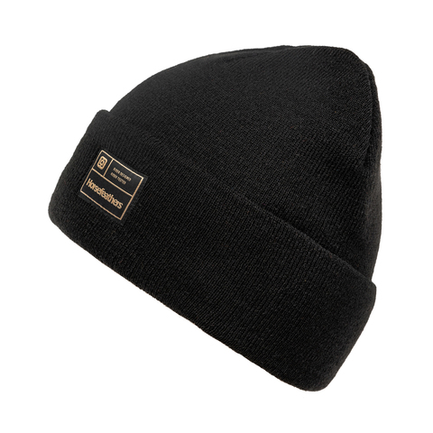 Шапка Horsefeathers MIKE BEANIE (black)
