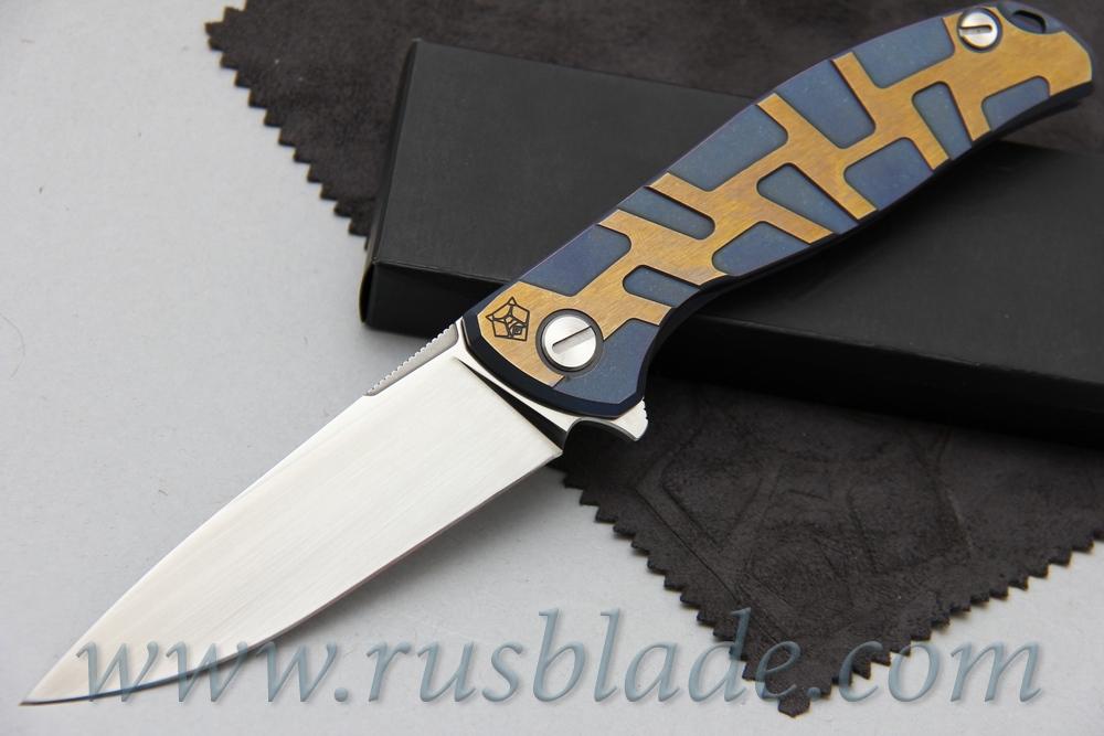 CUSTOM Shirogorov Flipper 95 ELMAX T DUO TONE - фотография