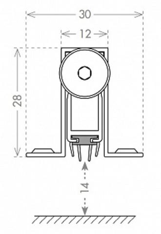 Автоматический порог EASY CON ALIETTE ASAL A /830 схема