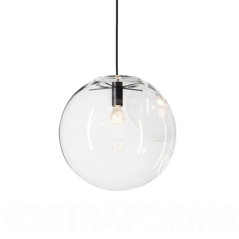 Подвесной светильник копия SELENE by ClassiCon D40 (черный)