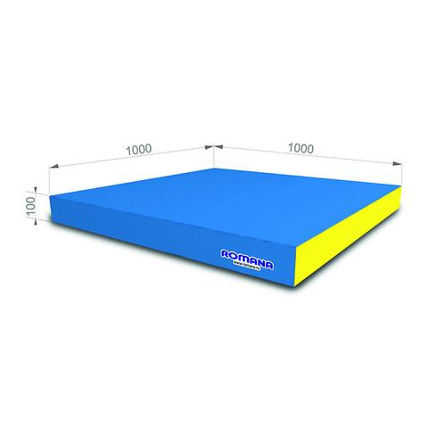 РОМАНА Мягкий щит (Мат) 1000*1000*100, одинарный