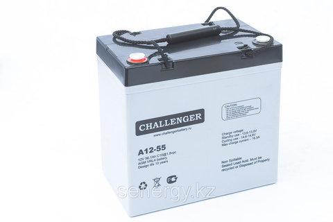 Аккумуляторная батарея CHALLENGER A12-55