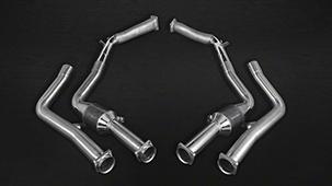 Выхлопная система Capristo для Mercedes G63 W 463 5.5L V8 BiTurbo AMG